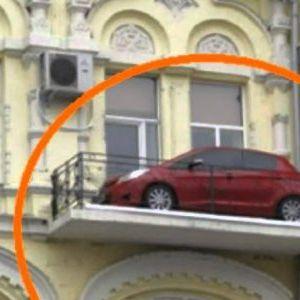 Некои луѓе трајно си го решиле проблемот за паркирање