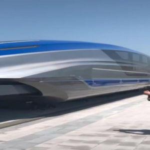 Кина го пушти во употреба возот кој може да вози 600 км/ч