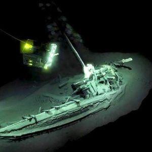 Брод од Aнтичка Грција пронајден на дното од Црното Море