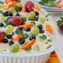 Свежа овошна тирамису торта