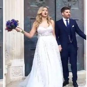 Татко ѝ не стигна на свадбата - се омажи ќерката на поранешниот хрватски премиер Иво Санадер