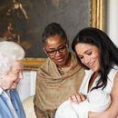 Маркл и принцот Хари го покажаа синот за Денот на татковците