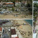 ФОТО: Ужасот на Халкидики снимен од воздух - откриено зошто не било дадено предупредување за бура