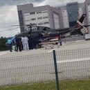 ФОТО: Се бори за живот - Српскиот кошаркар со хеликоптер пренесен во болница