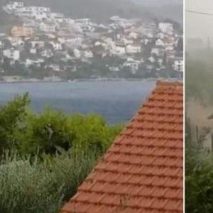 Невреме донесе заладување во регионот - 17 литри дожд наврнало за помалку од еден час