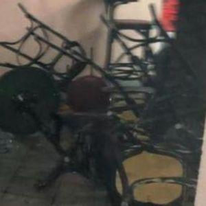 Вака изгледа демолираното кафуле после нападот на Срби во Хрватска - во болница се 5 лица