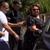 Катица Јанева пристигна на погребот на својата мајка