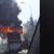 Возачот излегол и го гасел пожарот - Детали за запалениот автобус на ЈСП