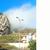 Од силниот земјотрес во Албанија огромна карпа се сруши како кула од карти