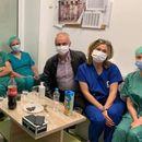 """Филипче објави фотографија од тимот на кардиохирурзи пред да изведат прва трансплантација на срце: """"Им држиме среќа"""""""