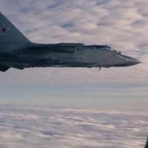 """Нова """"пресметка"""" на небото: Американски ловец """"Посејдон"""" се доближи до руската граница, Руски  МиГ- 31 веднаш полета"""
