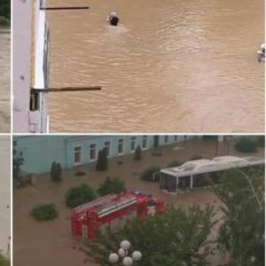 Потоп во Русија: За шест часа паднал дожд како за месец дена- сѐ е под вода