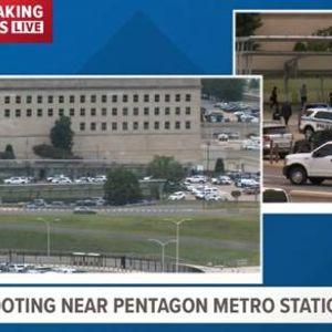 Пукотници пред Пентагон: Убиен полицаец