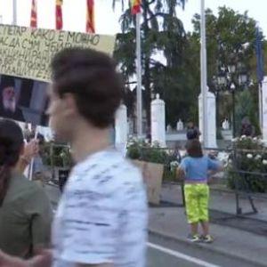 Слаба посетеност на антиваксерскоит протест во Скопје