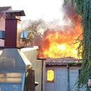 Изгаснат пожарот во Градскиот парк