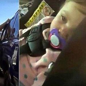 """""""Способни"""" затворници спасиле бебе од заклучен автомобил"""