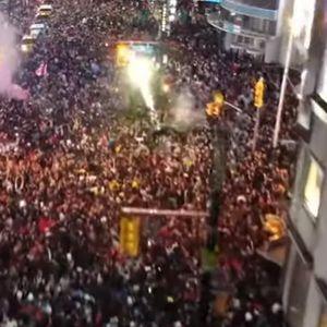 Нема спиење во градот: Вака жителите на Торонто ја слават НБА титулата