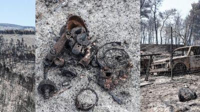 Пронајдени канти со бензин, крпи…дали пожарот во Евија бил подметнат?
