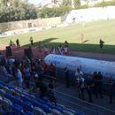 Земјотресот го прекина фудбалскиот натпревар во Тирана