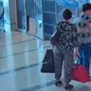 Видео: Русинка го продава своето дете за 40 евра, безбедносните камери ја снимиле