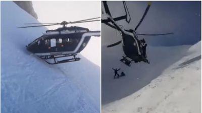 Скијач се повреди, па ги чекаше спасувачите: Тоа што го направи овој пилот ги зачуди сите