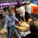 """""""Лидл"""" во Лесковац, ќе се степаа за ефтини пилиња"""