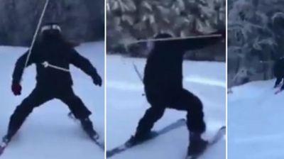 Дали Суад научи да скија? Вистинската приказна за видеото што го насмеа регионот