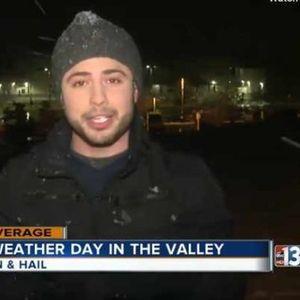 Пo десет години падна снег во Лас Вегас