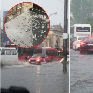 Силна бура попладнево го поплави Белград