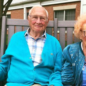 102-годишна жена се омажи со 100-годишен маж