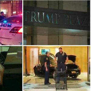 """Со """"мерцедес"""" влета во луксузниот хотел на Трамп во Њујорк"""