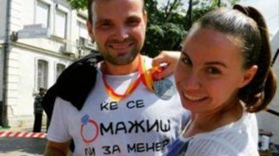 Атлетичар ја побара девојка си за сопруга на охридскиот маратон