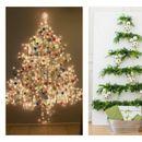 Десет новогодишни елки што може да ги направете самите