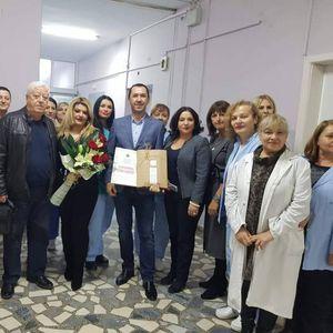 Семејството Ковачевски го реновираше машкиот оддел на хирургија во болницата во Битола
