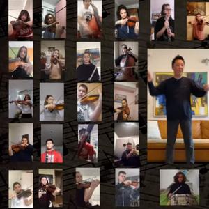 """Над 40 ученици од музичкото """"Илија Николовски – Луј"""" свиреа од дома"""