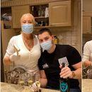 (Видео) Виктор Живојиновиќ славеше роденден