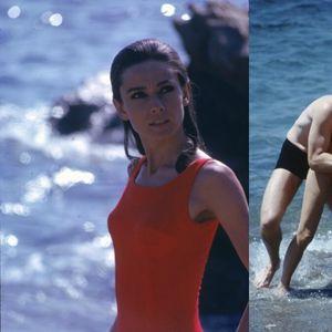 Одри Хепберн музата на  Живанши и денес инспирира со костимите за капење