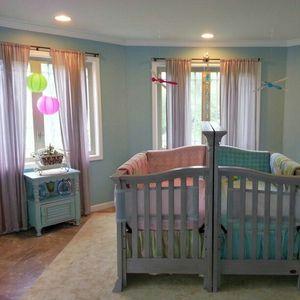 Идеи како да ја уредите собата за бебиња близнаци