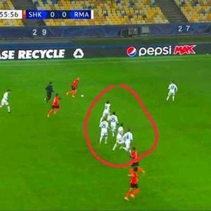 Момент од мечот со Шахтјор, поради кој цел свет им се смее на фудбалерите на Реал Мадрид