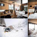 Лавина широка 300 метри проголтала хотел: Нереални глетки од Швајцарија