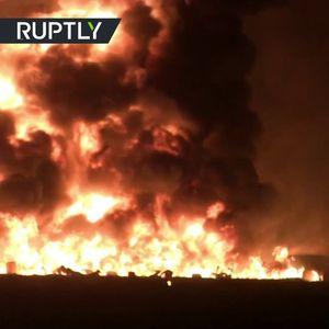 Над 70 загинати во експлозија на нафтовод, луѓето бегаа додека телата им горат
