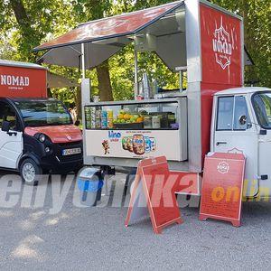 Кој дозволува нееколошки возила да вртат бизнис во Градски парк?!