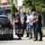 Со полициска придружба, Јанева утрово заминала на погребот на нејзината мајка