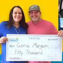 50.000 долари добила на лотарија пред својата венчавка, повторно освоила награда на годишнината од брак