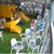 Жена тепа дете во игротека во Аеродром