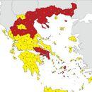 Мапа: Еве во кои делови од Грција има најмногу заразени
