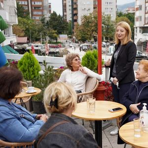 Арсовска: Потребно е на луѓето да им се овозможат услови за развој и просперитет