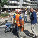 Važno mi je da razgovaram sa radnicima: Radojičić obišao radove na raskrsnici Kraljice Marije i 27. marta