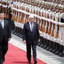 Кинескиот претседател во официјална посета на Грција