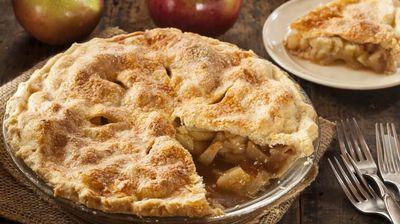 Američka pita s jabukama i cimetom
